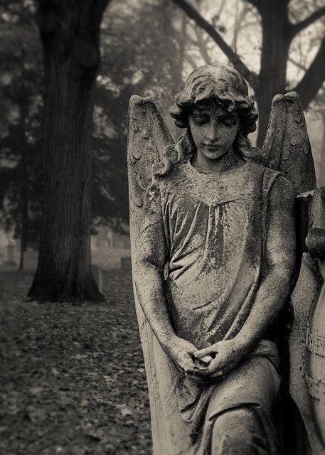 Angel 5x7 Fine Art Photography Print cemetery by riotjane, $12.00