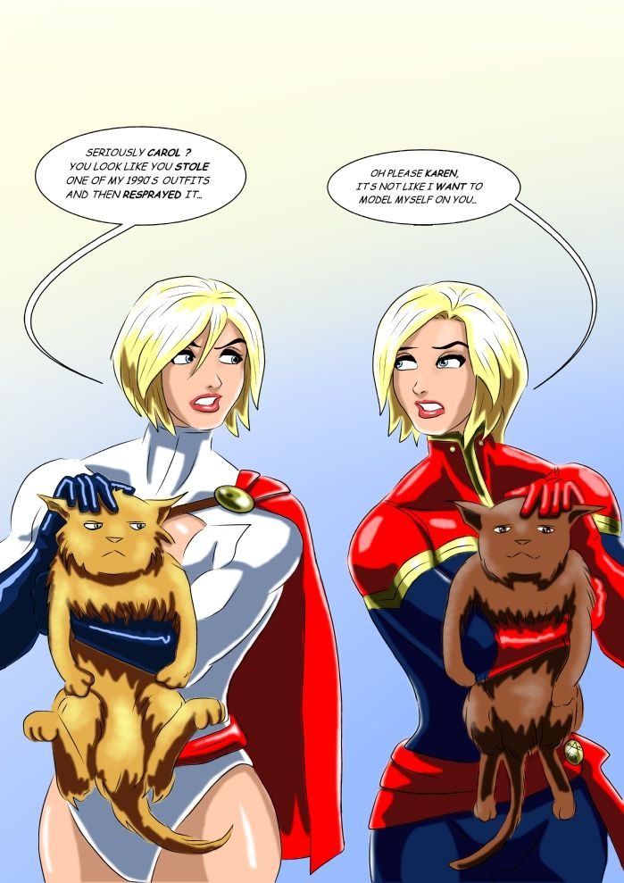 Wonder woman with miss america and power girl-92