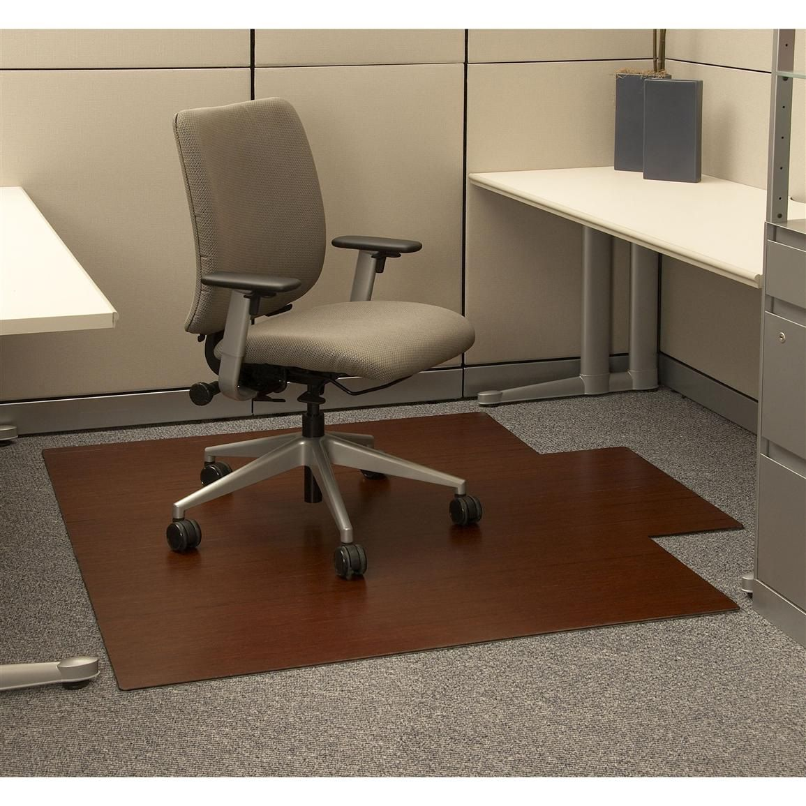 Bamboo office chair mat executive home office furniture