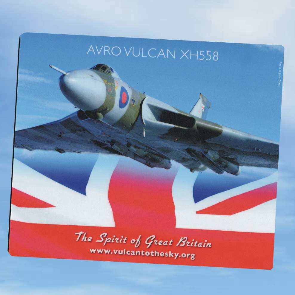 2013 - Spirit of Great Britain Mouse Mat for the Dairylea.