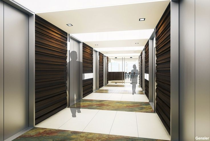 Image result for elevator hall lantern height commercial - Commercial interior design codes ...