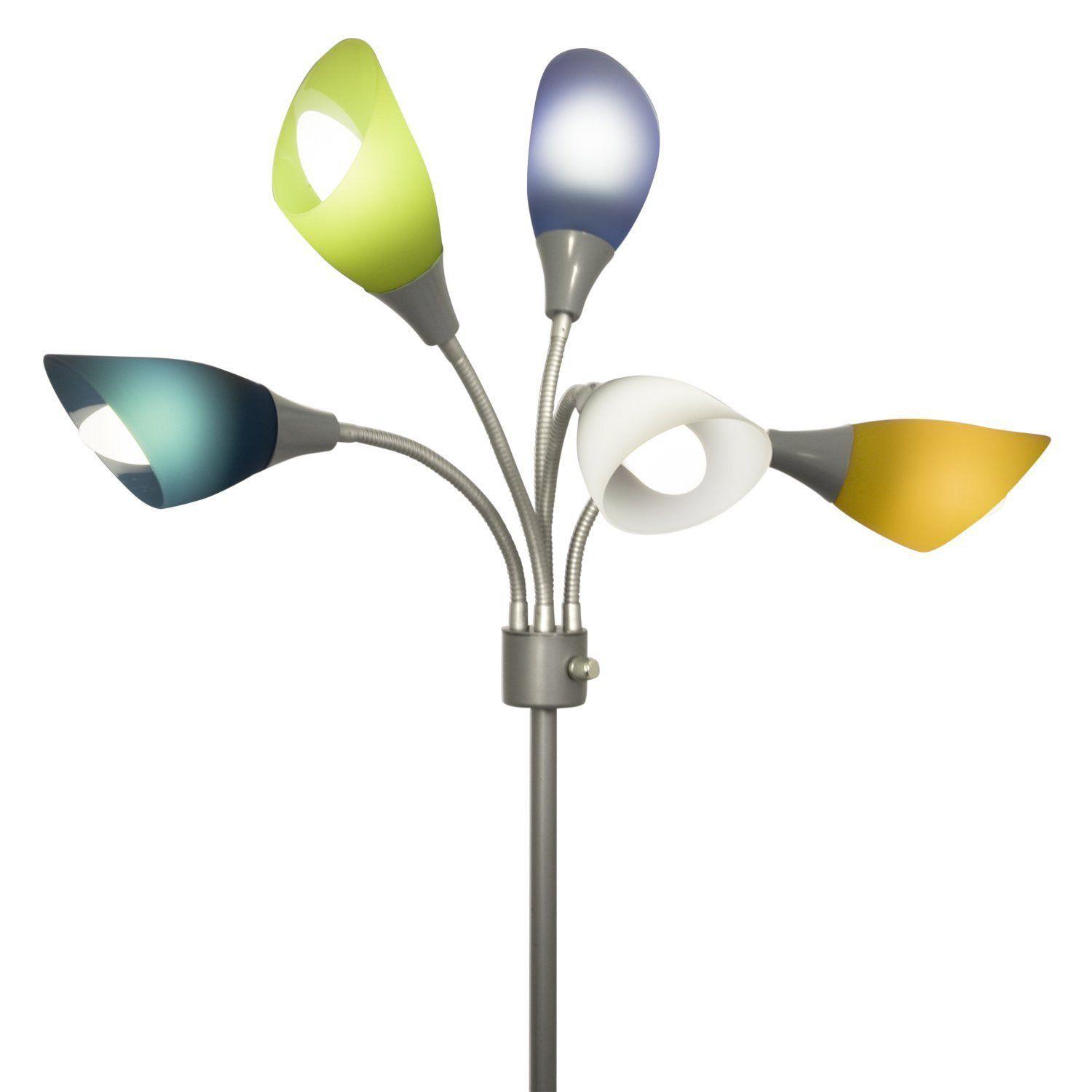 Medusa Colored Small Shade Replacement Set Of 5 Lamp Floor
