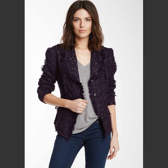 4765d0c37b NWT Fitted Purple Blazer Standout classic purple blazer with two buttons to  close at natural waist. Lined. Goes equally well with jeans or a dress!