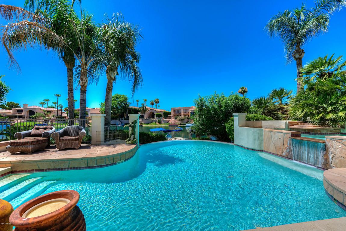 Beautiful waterfront property in scottsdale ranch for sale