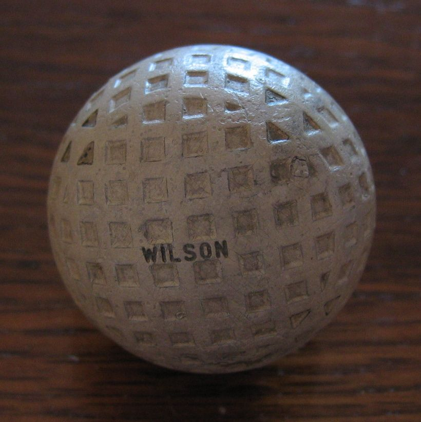 Pelota de golf tipo Square mesh. (Rubber core) Nombre de