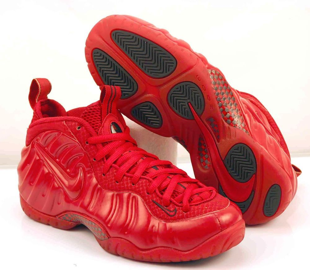 promo code 394c0 69b7a Nike Air Foamposite Pro Red October Size 8 Gym Red Black 624041-603  NIKE   AIRFOAMPOSITEPRO624041603
