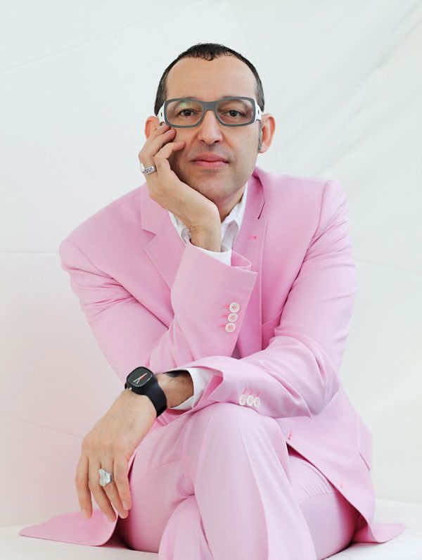 Industrial Designer Karim Rashid -- hes infiltrated your ...