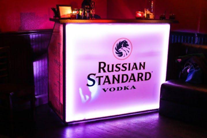 Russian Standard Vodka   Professional Portable Bar By The Portable Bar  Company