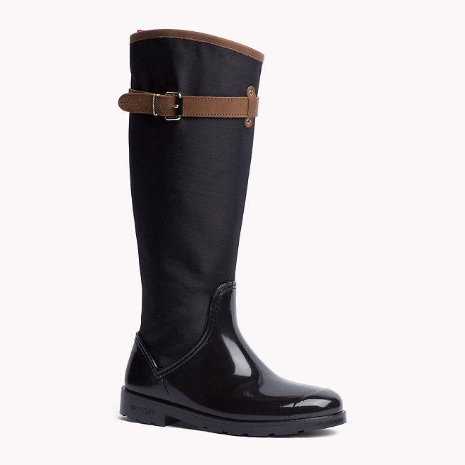 laaja valikoima 100% huippulaatua kuuma myynti Tommy Hilfiger Oxford Boot - black/winter cognac (Black ...