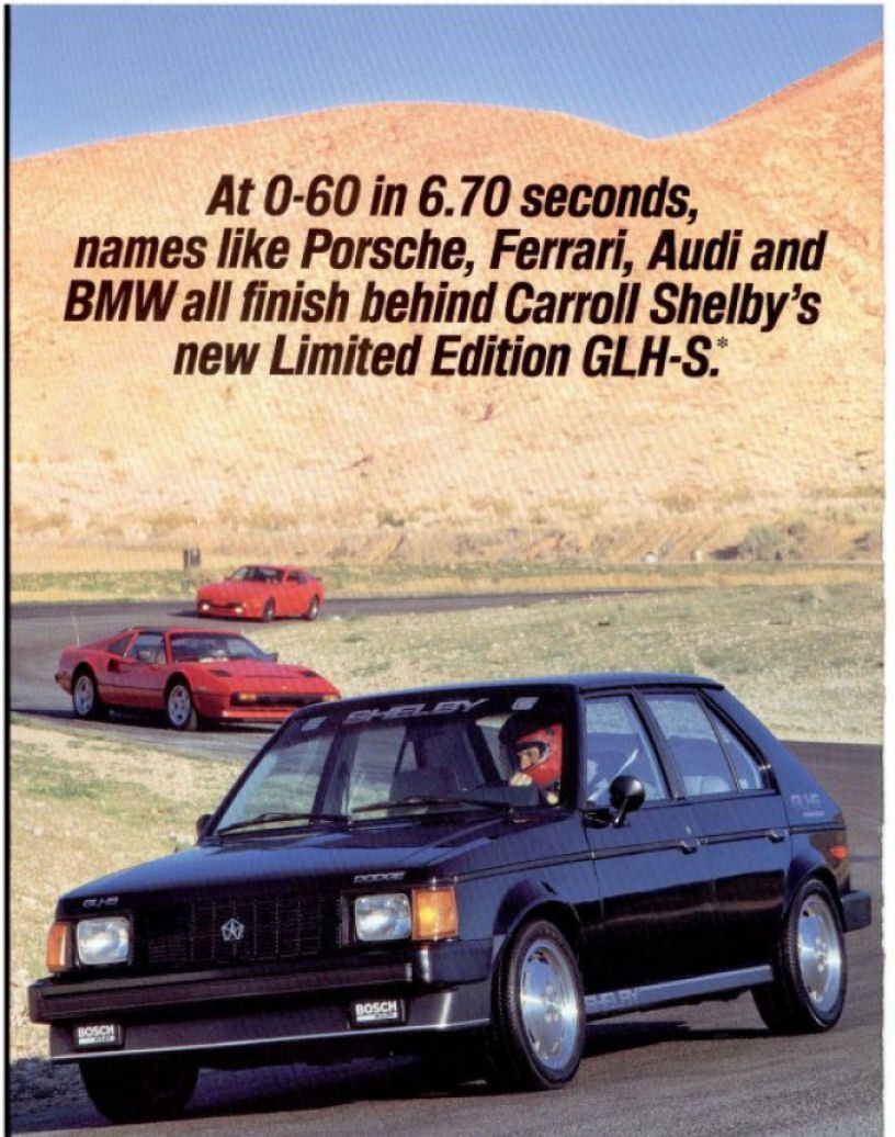 1989 Dodge Omni for Sale 1 - In Honor Of Carroll Shelby Hot Hatch Shelby Dodge Omni Glh S - 1989 Dodge Omni for Sale 1