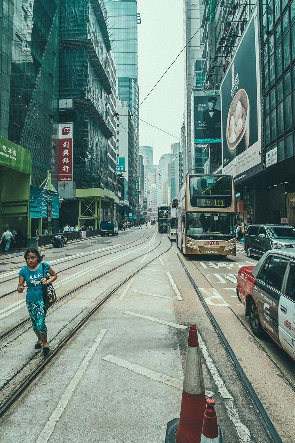 komposisjon Beating the Hong Kong Traffic