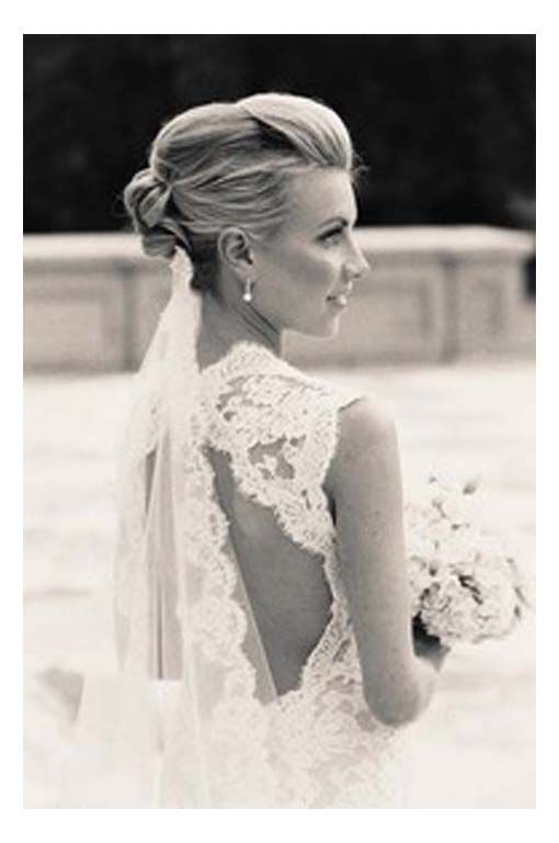 Hairstyles Wedding Updos With Veil Underneath I M Not Sure How Your Is