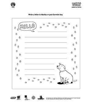 Martha Speaks Coloring Book Pages Coloring books Pbs kids and