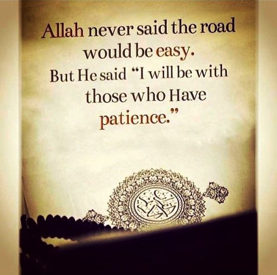 Who have patience. | Islamic quotes, Motivasi