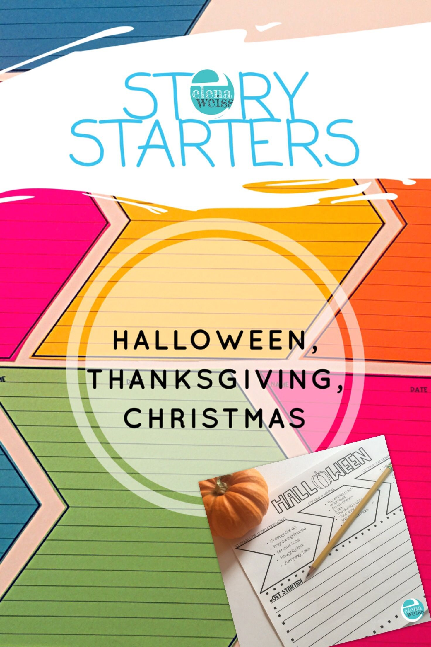 Narrative Writing Story Starters For Halloween