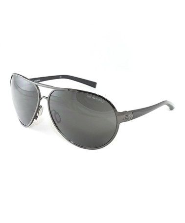 5ac2c6e1d0 Take a look at this Gunmetal Alaris Sunglasses - Women   Men by Nike on   zulily today!