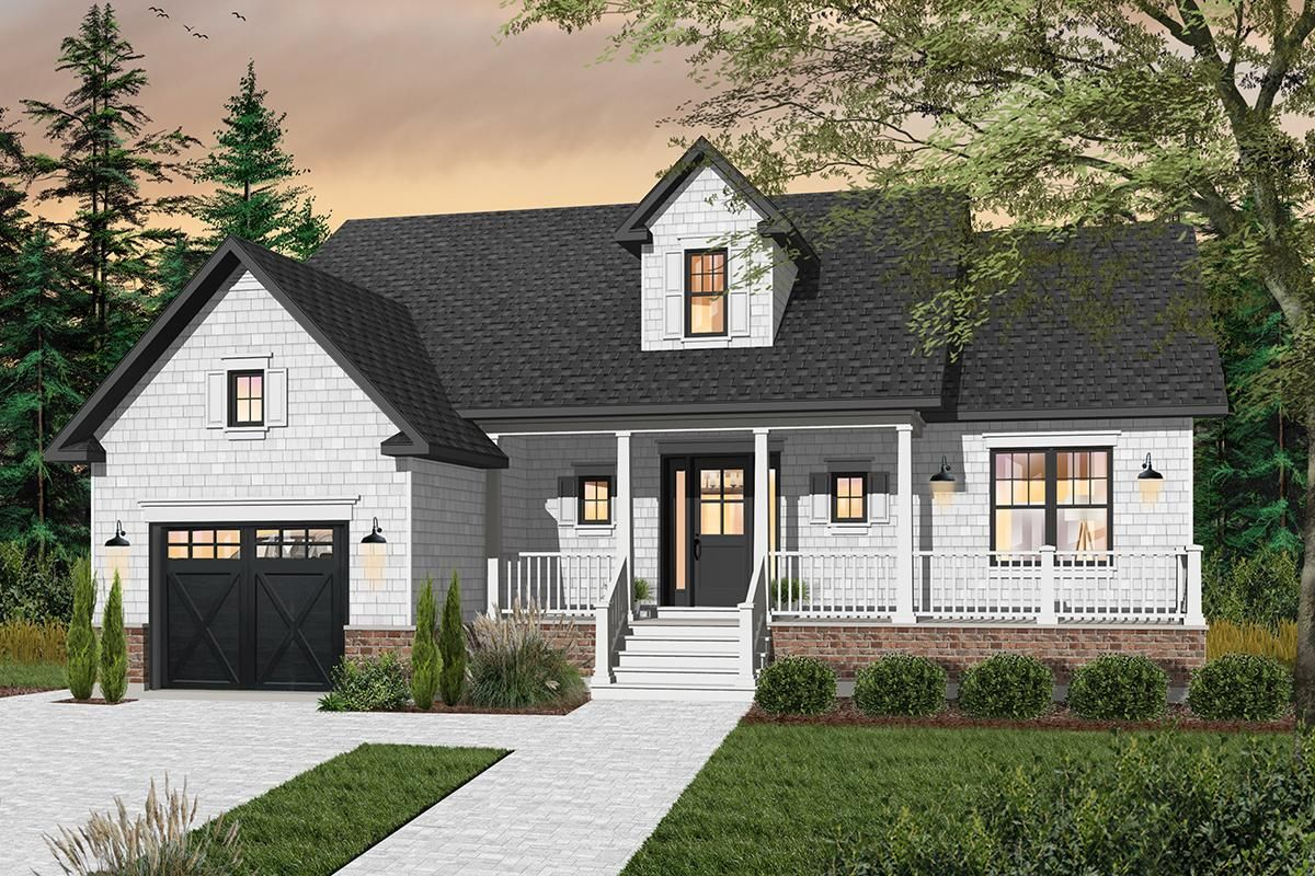 Houseplan 034-00211 | House plans in 2019 | House plans ... on contemporary porte cochere, narrow lot house plans with loft, custom porte cochere, narrow lot house plans with pool, colonial porte cochere, narrow lot house plans with 3 car garage, narrow lot house plans with porch, hotel porte cochere,