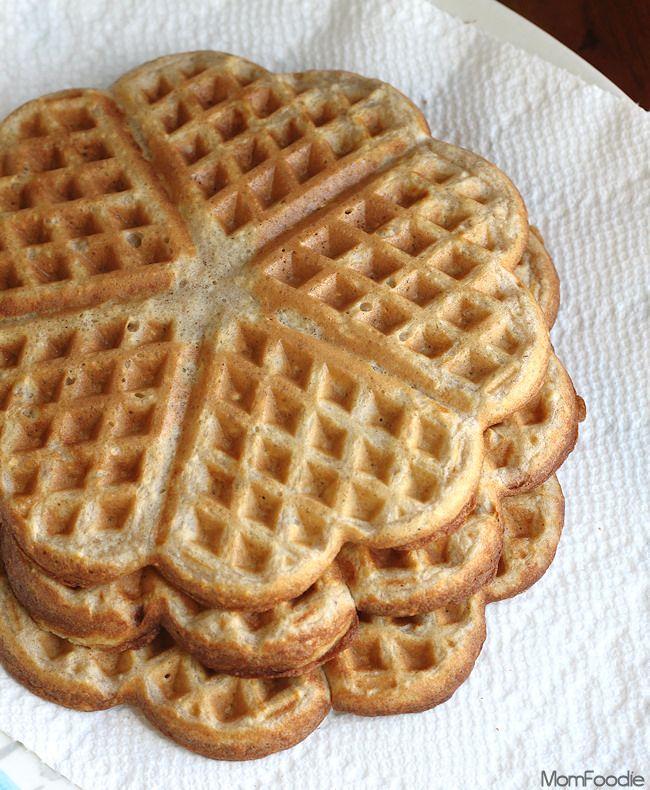 heart waffles.  Muy ricos, infladitos y de buen sabor. Salieron 7.