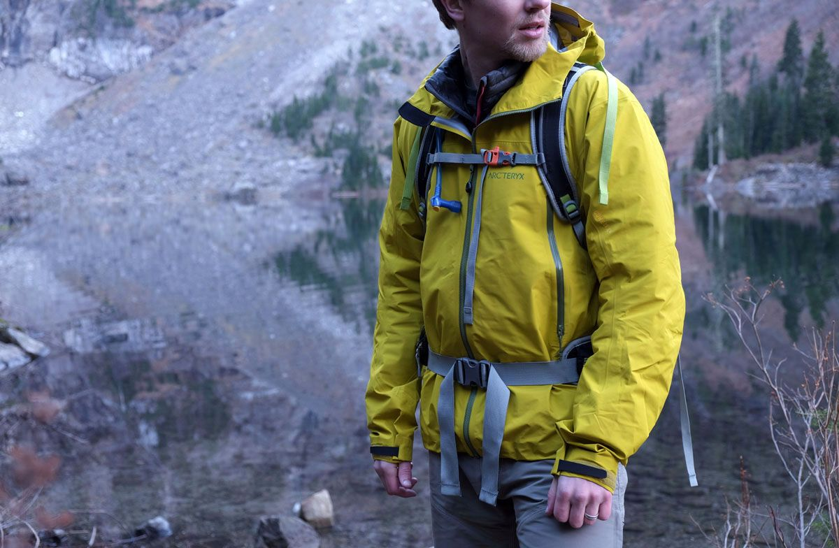 Rain Jacket For Hiking And Everyday Use.