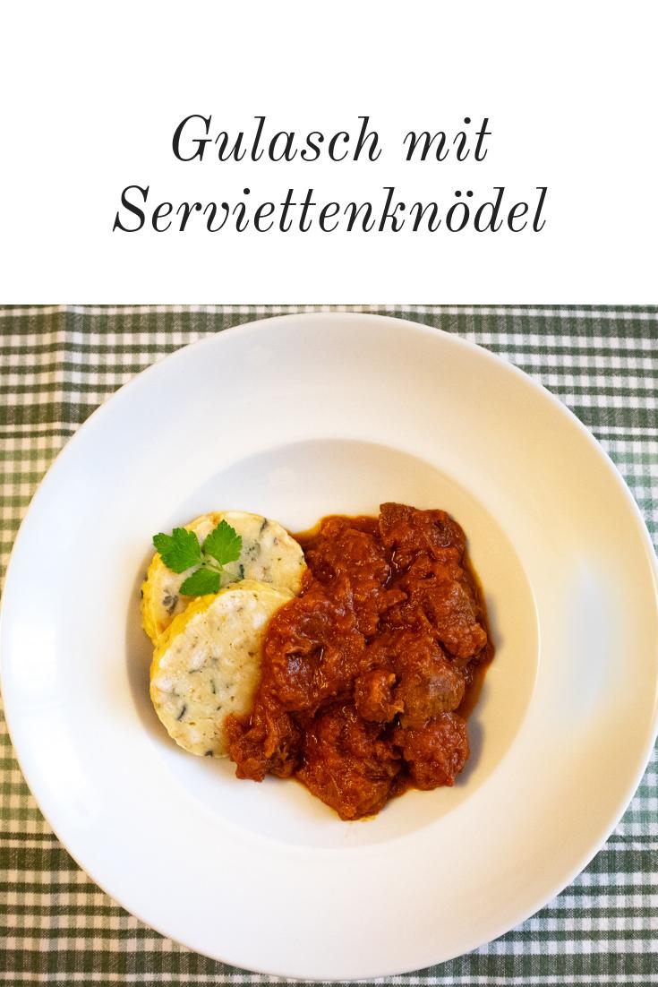 Serviettenknödel österreichische Art