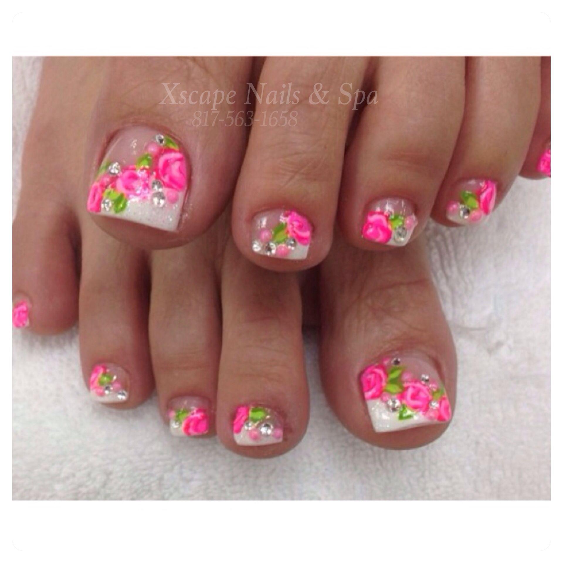 Pink zebra nails nails pinterest - Pink Nail Designs