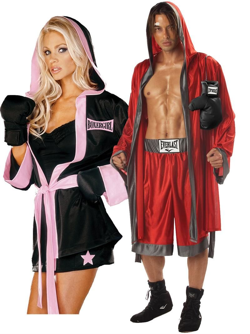 couples costumes. halloween costumes couples boxing couples costume