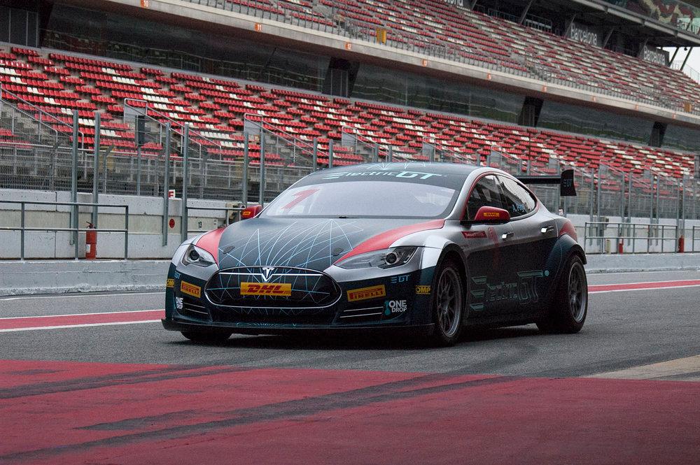 Tesla Model S Packs 778 HP In Electric GT Racing Spec ...
