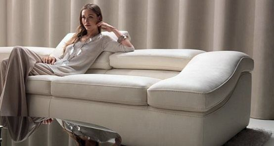 Ambiente Furniture Natuzzi 2547 Wave Sectional Living