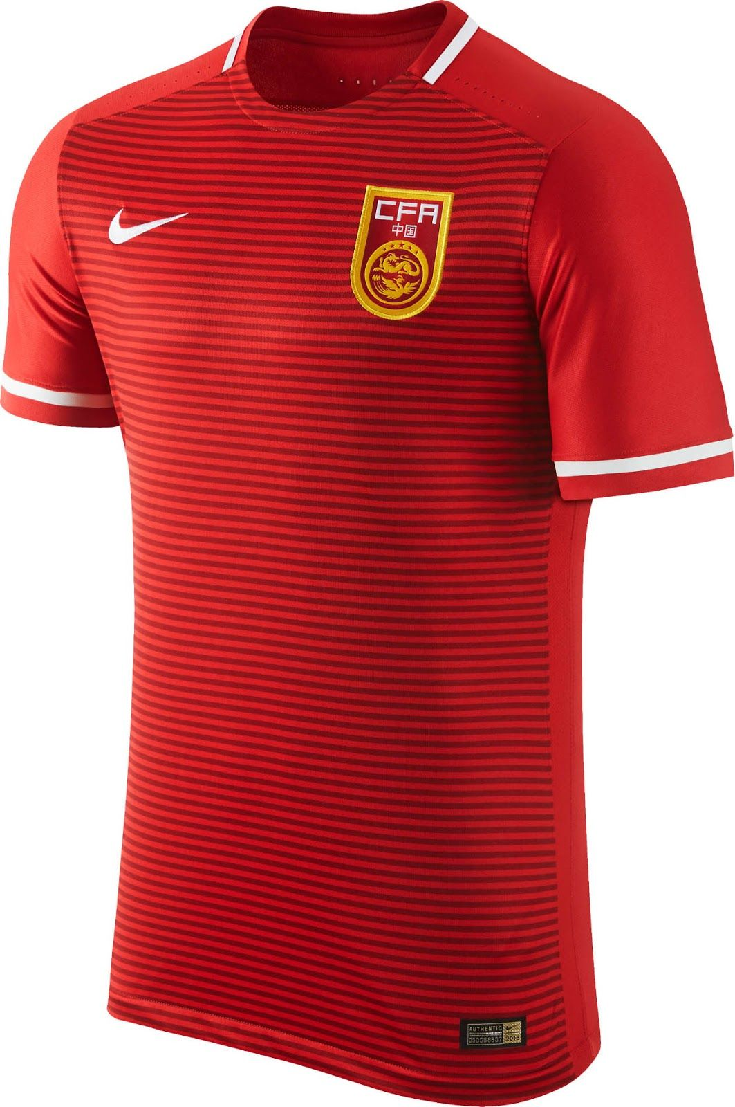 9a1e3311b Nike China 2015-2016 Home Kit Released - Footy Headlines Football Team Kits