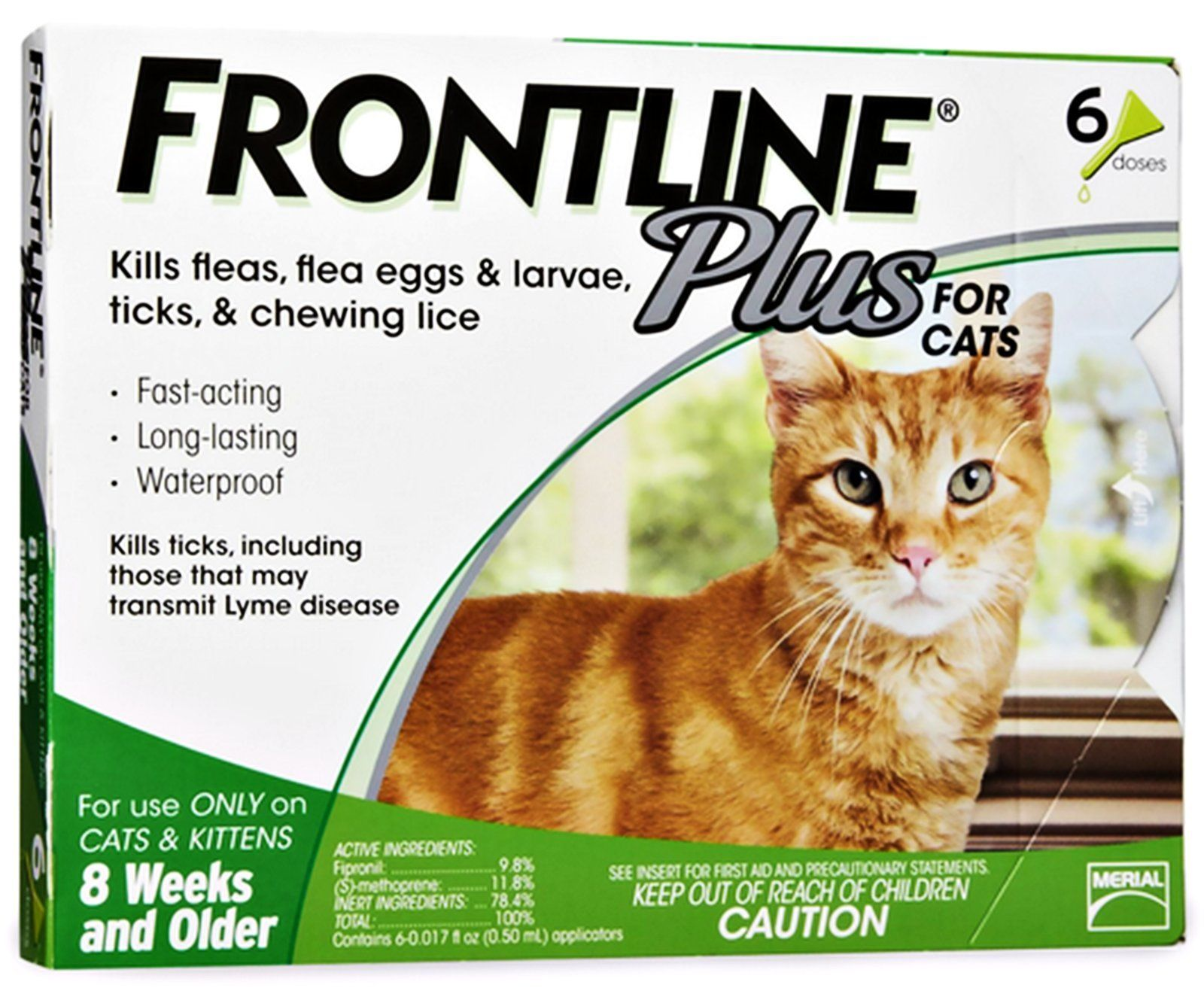 Frontline Plus for cats and kittens 8 weeks or older 6