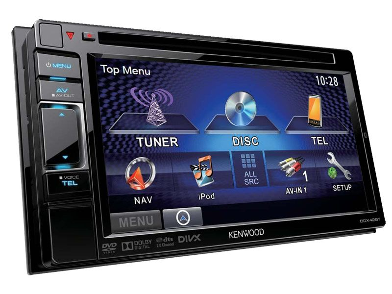 The Kenwood DDX-42BT Multimedia System makes driving more of a pleasure. Why put yourself through the bother of using multiple gadgets when you can make calls, listen to music and navigation using just one?  The superb high-resolution screen shows directions, track listings and a whole wealth of information very clearly. It offers multiple levels of connectivity, making it simple to talk hands-free or use your favourite music player.