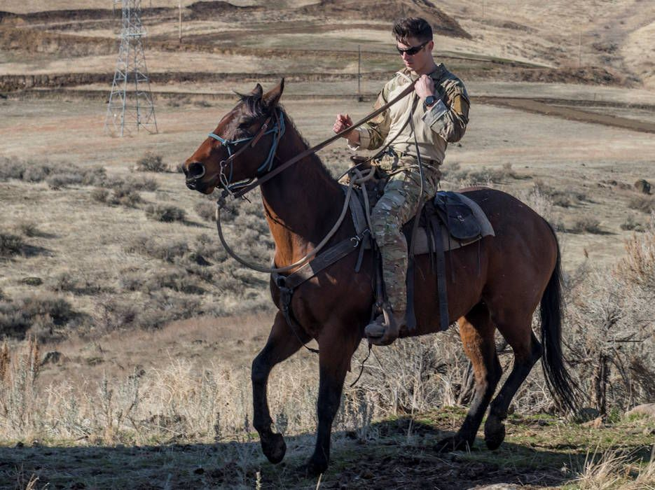Tacp Airmen Train With Pack Animals Animals Old West Photos United States Military