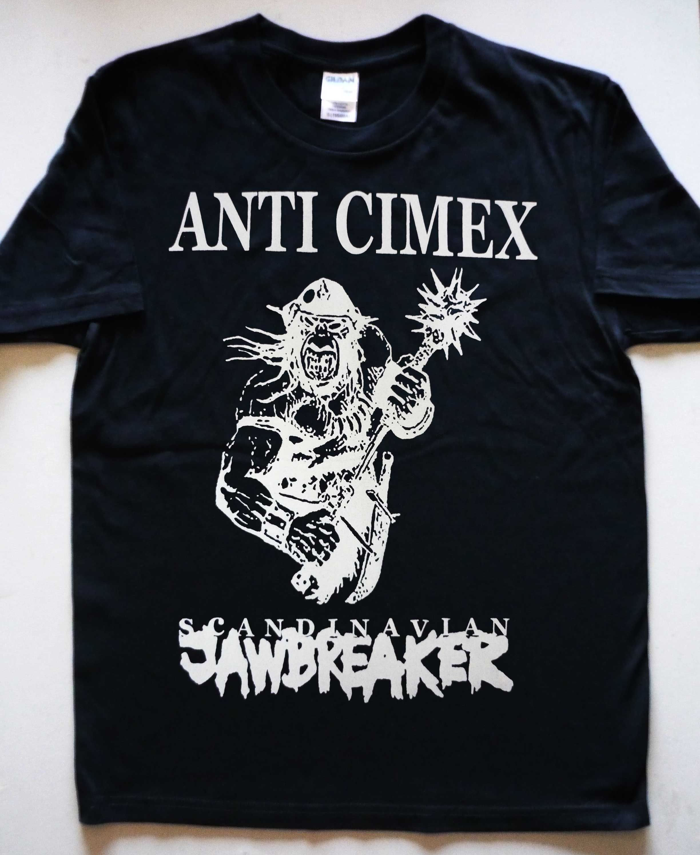 Anti Cimex Scandinavian Jawbreaker T Shirt Mens Tops Shirts T Shirt