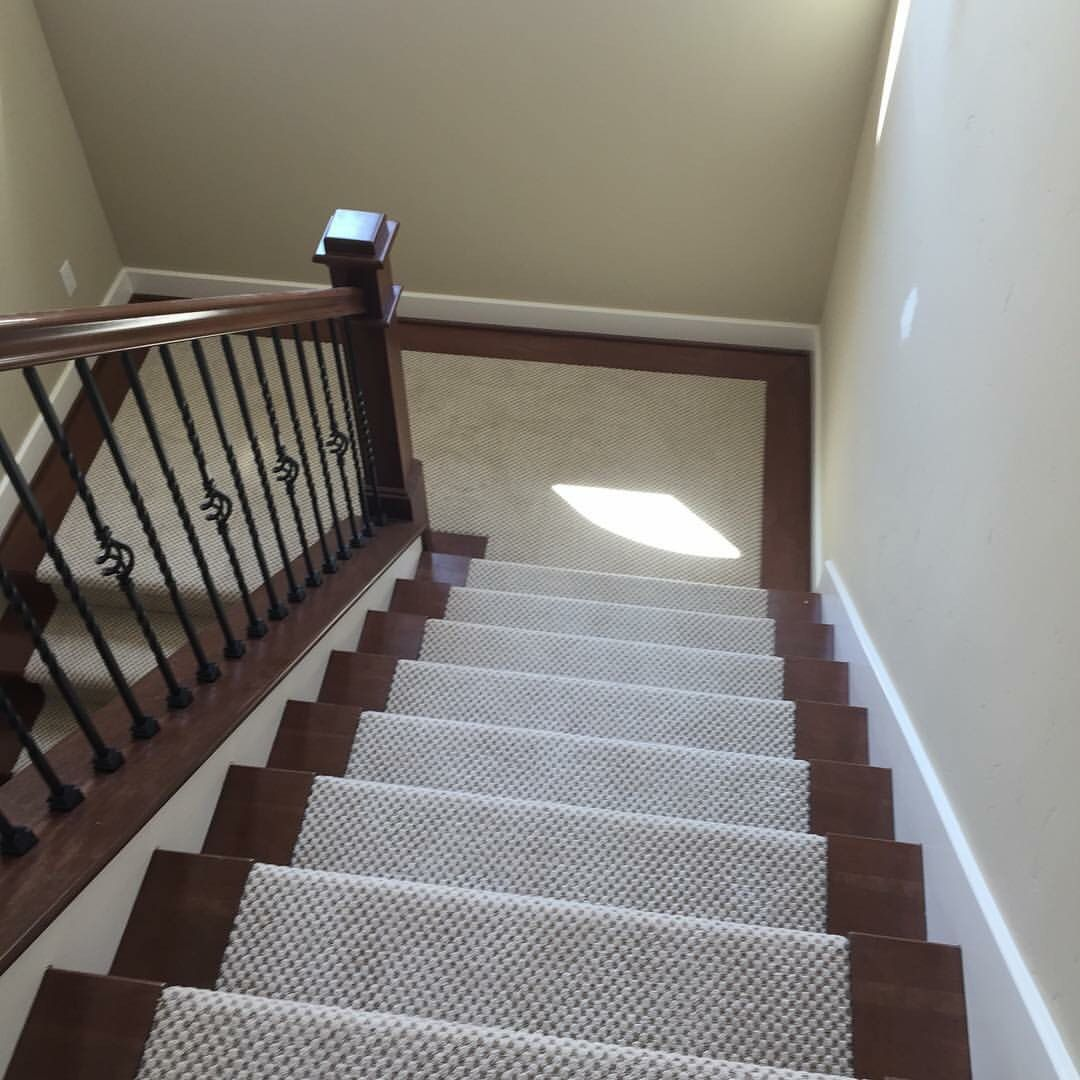 Best Gorgeous Carpet With Laminate Border Stairs Call Big Bens 400 x 300