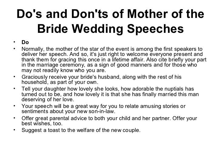 Mother Of The Bride Welcome Speech Aol Image Search Results Wedding Speech Bride Speech Bride Wedding Speech