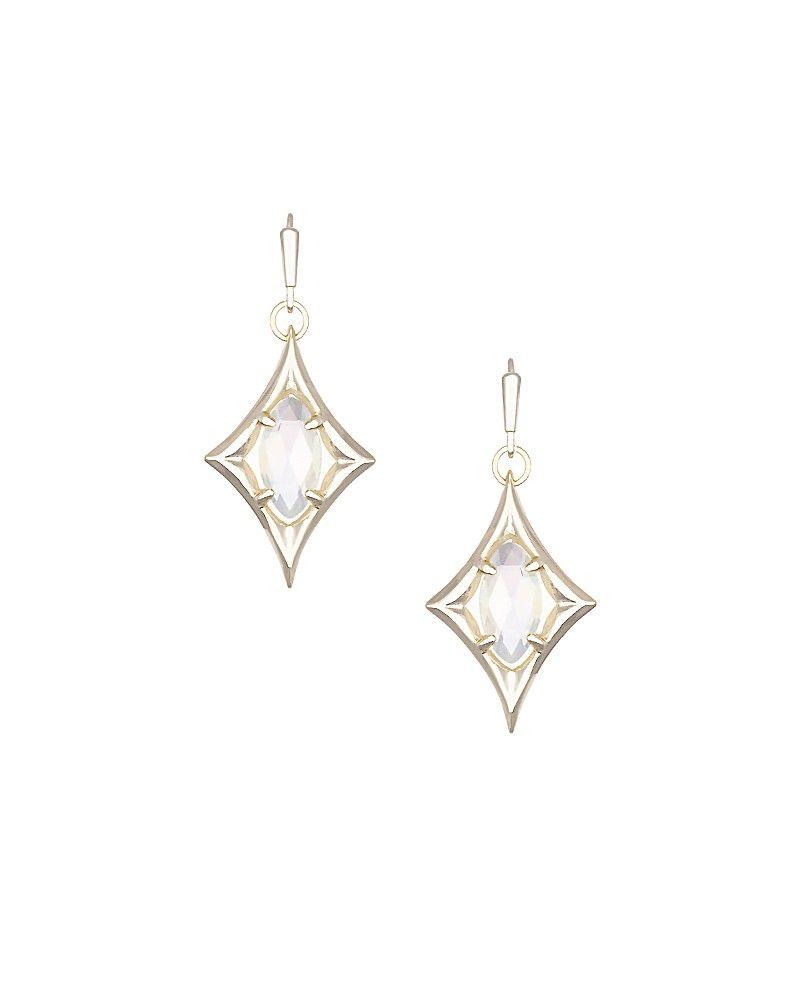 Christa delicate earrings in gold kendra scott jewelry i uc