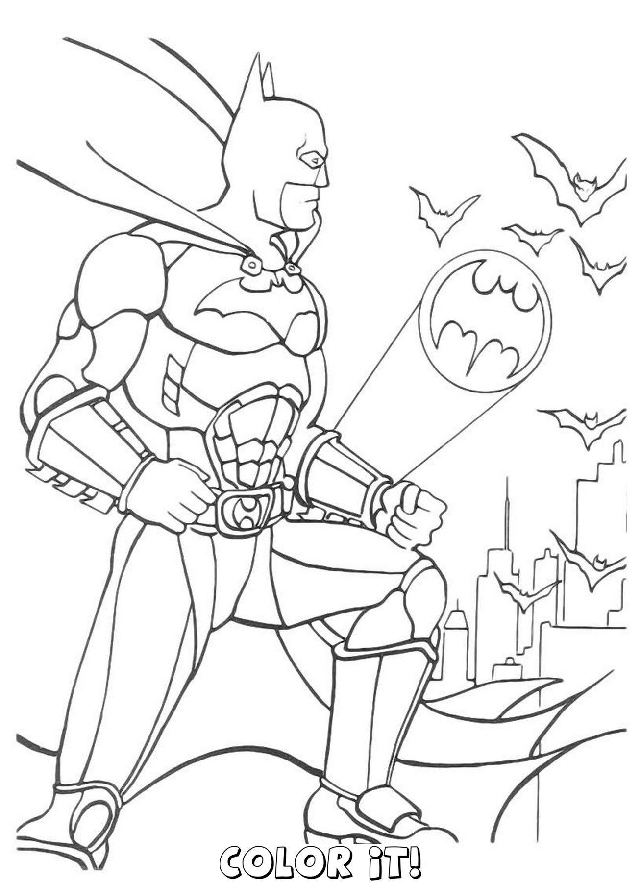 Batman and robin coloring pages Boyama sayfaları, Sanat