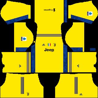 Juventus Kits 2021 Dls Fts Seria A Mobile Game Soccer Kits Juventus Goalkeeper Kits