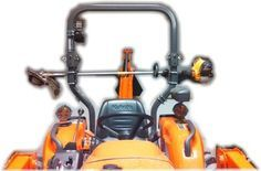 Tractor ROPS Grip Mount Tool Holder   ideas   Tractor