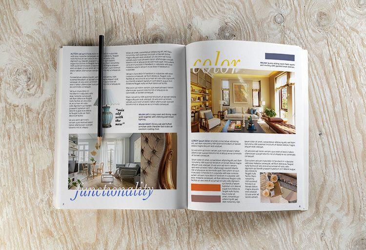 Interior Design Lookbook Spread 2 Melissa Ruiz