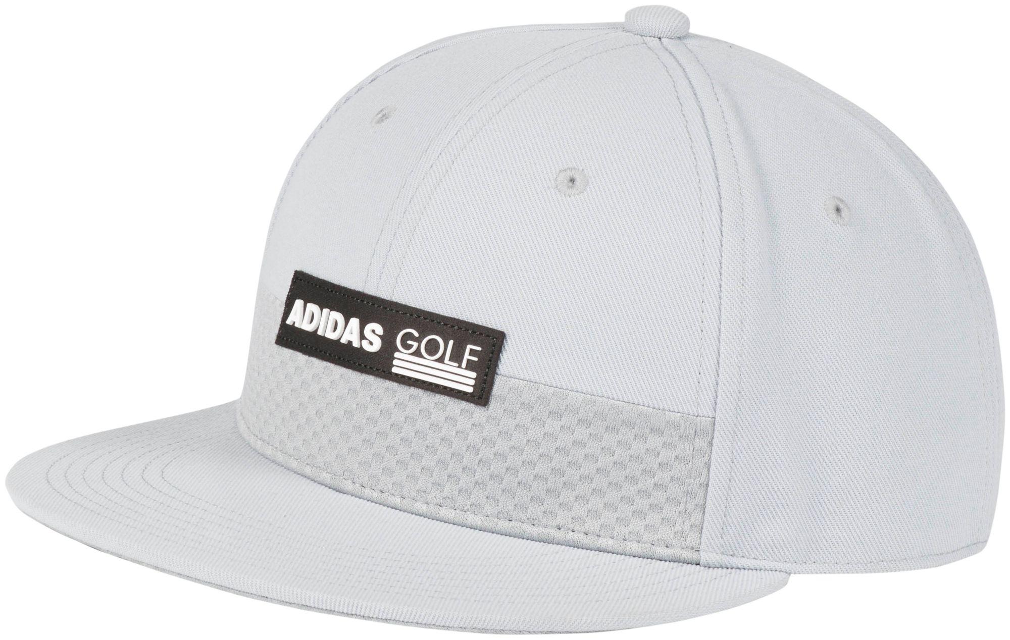 adidas Men s Patch Flat Bill Golf Hat  7e0fad864b3