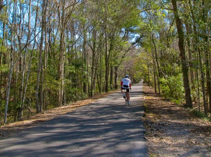 Jacksonville-Baldwin Rail Trail 14.5 miles Not far from me. Must hit this one soon.