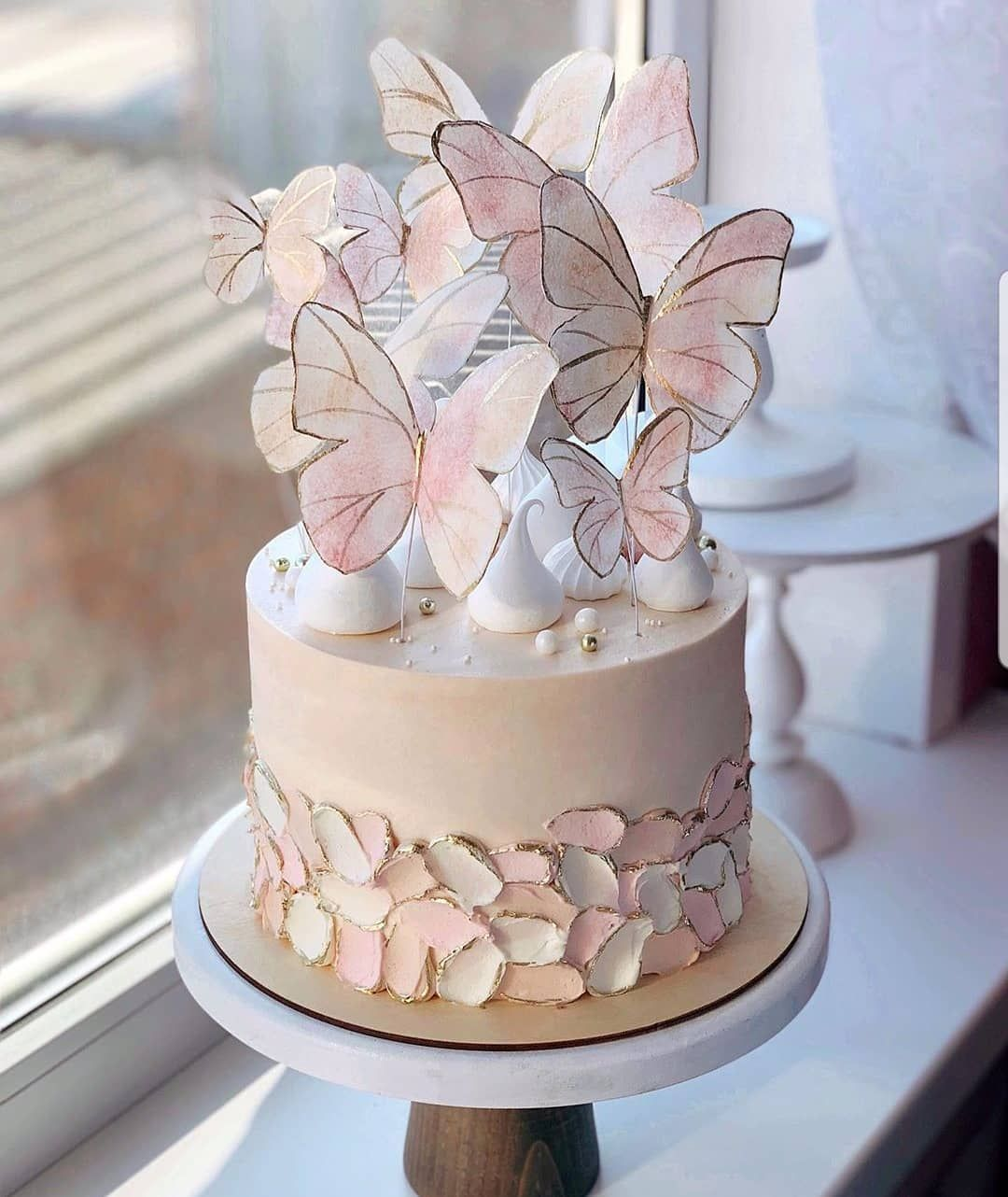 Amourducake V Instagram Yes Or No Amazing Cake With Butterfly By Kulik Ova This Cake Butterfly Birthday Cakes New Birthday Cake Butterfly Cakes