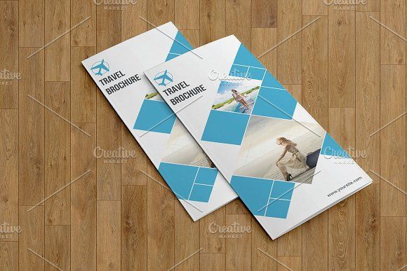 Travel Agency Brochure V763 Brochures Business Brochure And Template