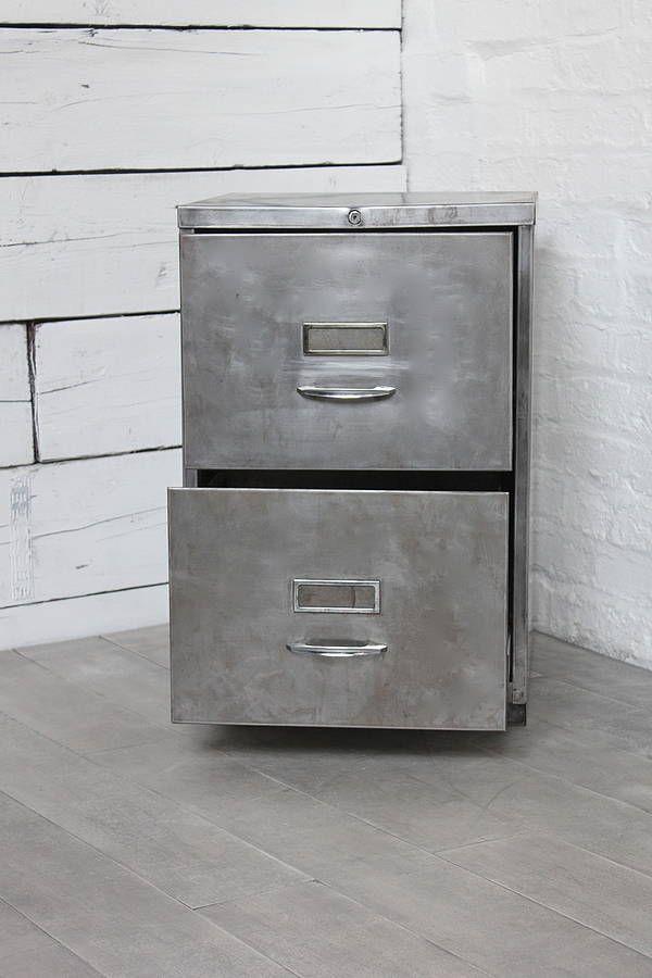 Vintage Metal File Cabinet Metal filing cabinet. next - Vintage Metal File Cabinet Metal Filing Cabinet. Next Office Space