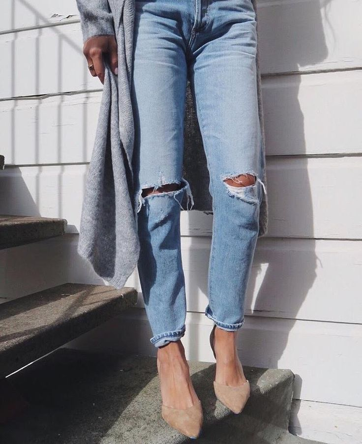 High rise jeans lookbook