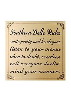 Southern belle rules to live by