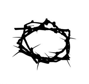 Crown of thorns easter pinterest tattoo tatting and for Cross tattoo on forehead meaning
