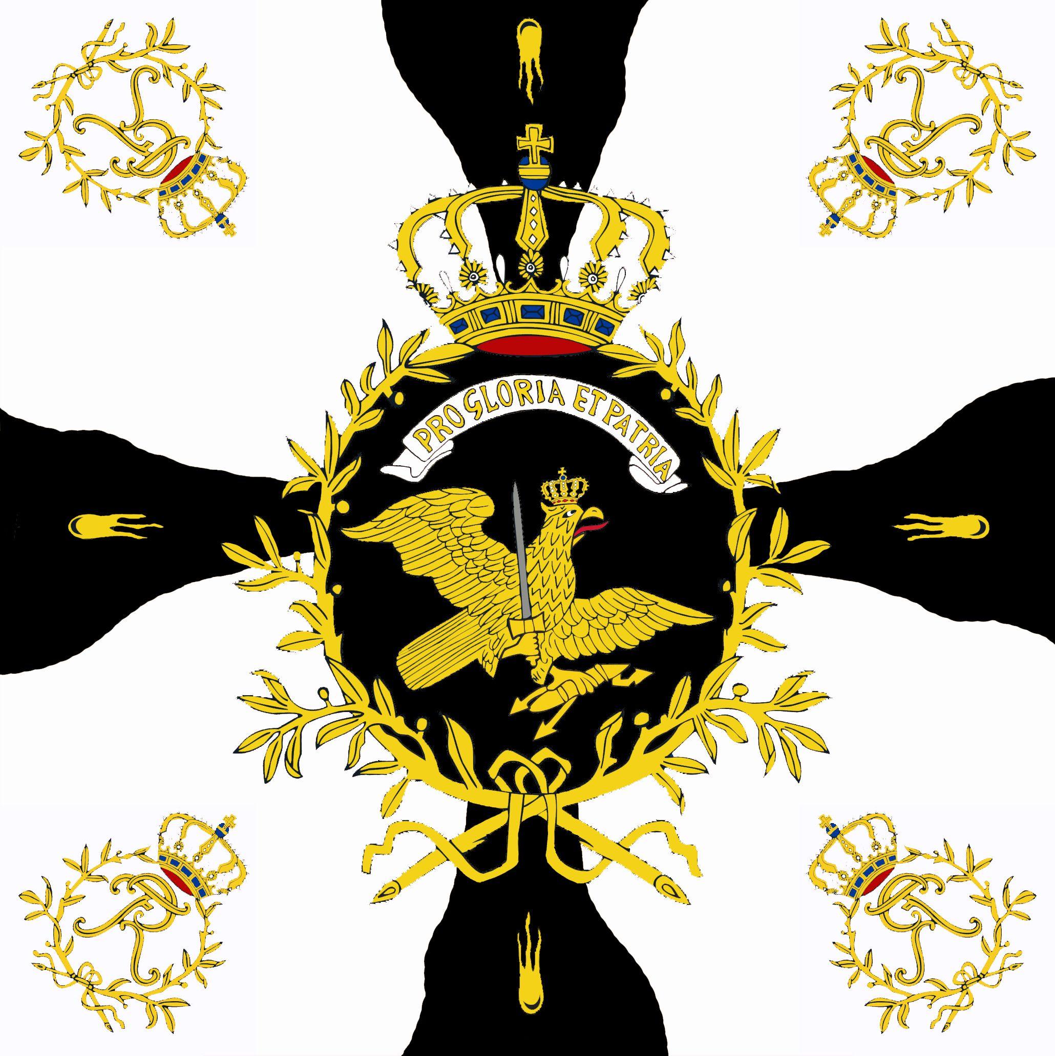 Infanterie-Regiment Nr. 8 von Amstell, Liebfahne ...