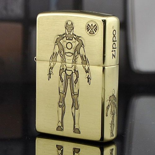 Japanese Zippo 5 Sides Iron Man Lighter Limited Edition Zippo